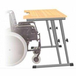 Мебель для учреждений - Стол для инвалидов колясочников СИ-1 регулируемый по высоте, 0