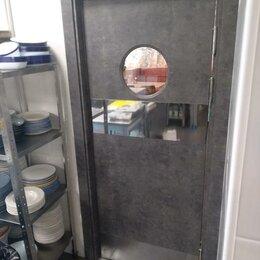 Межкомнатные двери - Дверь маятниковая для баров и ресторанов, 0