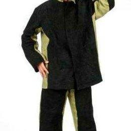 Одежда и аксессуары - Костюм сварщика брезентовый комбинированный спилком (150дм2), 0