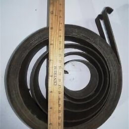 Уголки, кронштейны, держатели - Пружина противовеса Диаметр внешний 185 внутренний 60 ширина 5, 0