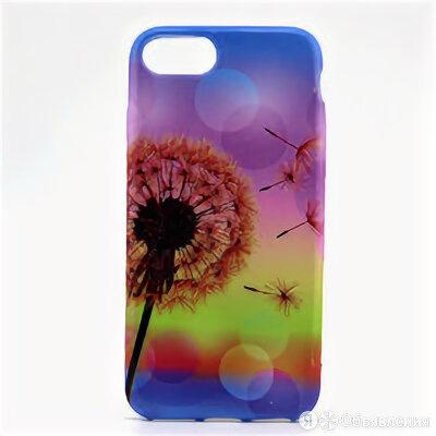 Чехол-накладка на Apple iPhone 7/8 Plus, силикон, colorfull, flowers 1 по цене 150₽ - Чехлы, фото 0