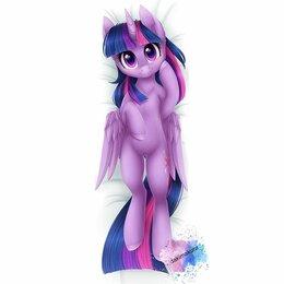 Декоративные подушки - Дакимакура My little pony - Сумеречная Искорка, 0