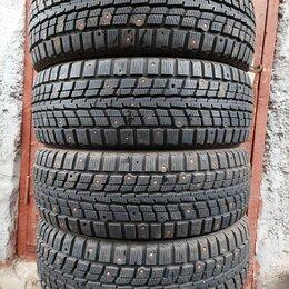 Шины, диски и комплектующие - Шины зимние шипованные Dunlop SP Winter Ice 01 японская резина 175 65 R14, 0