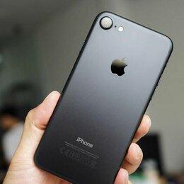 Мобильные телефоны - Iphone 7 128gb черный матовый - новый, 0