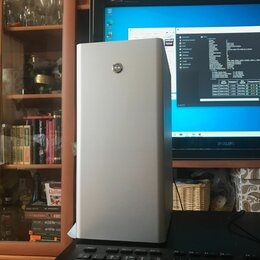 Настольные компьютеры - I7-7700, 16Gb, RX460 4Gb, 120 SSD, алюминиевый, 0