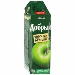 Продукты - Сок добрый яблоко-виноград, без сахара, 0