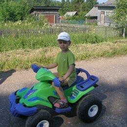 Электромобили - Детский квадроцикл  зеленый Крузер А=512, 0