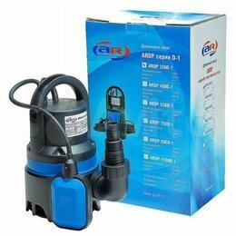 Насосы и комплектующие - Насос дренажный для грязной воды AquaMotor, 0