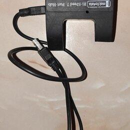 USB-концентраторы - Хаб High Speed 7 Port USB 2.0 Hub, 0