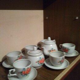 """Сервизы и наборы - Чайный сервиз """"Розы"""" на 6 персон из 14 предметов, 0"""