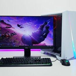 Настольные компьютеры - Игровой ПК i3-9100F +1050Ti 4Gb+ DDR4 8Gb+ Монитор, 0