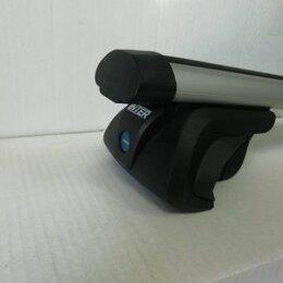 Перевозка багажа - Багажник TITAN на рейлинги с аэродинамическими дугами с замком, 0