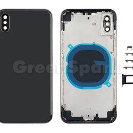 Корпусные детали - Корпус для iPhone X european version (черный) AAA, 0