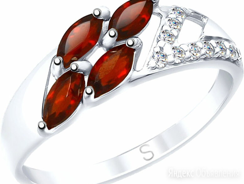 Кольцо SOKOLOV 92011643_s_16-5 по цене 980₽ - Кольца и перстни, фото 0