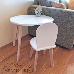 Столы и столики - Комплект - детский стульчик и столик, 0