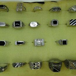 Кольца и перстни - Мужские перстни из серебра 925 пробы. , 0