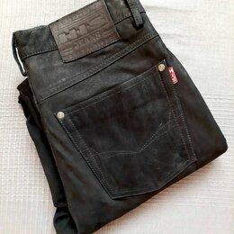 Джинсы - Брюки-джинсы из натуральной кожи HIS Jeans, 0