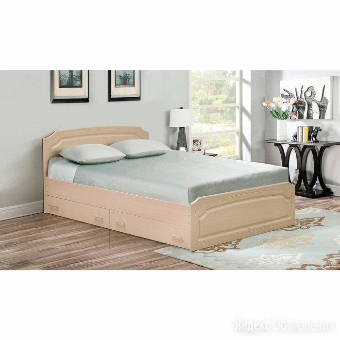 Кровать двойная с ящиками «Венеция 3», 1200 × 2000 мм, цвет дуб молочный / ду... по цене 24674₽ - Кровати, фото 0