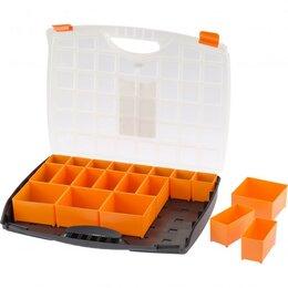 Органайзеры и кофры - Органайзер с контейнерами 425 х 330 х 60 мм, пластик, STELS, 0