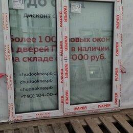 Окна - Окно, ПВХ Ivaper 70мм, 1410(В)х1340(Ш) мм, 0