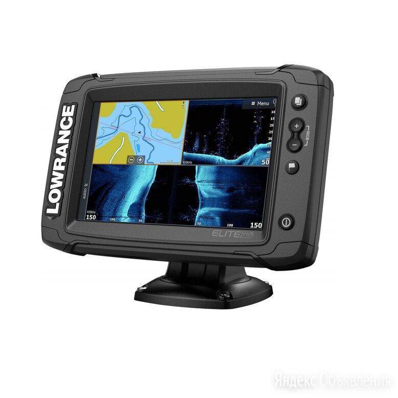 Эхолот Lowrance Elite-7 Ti2 с датчиком Active Imaging 3-в-1 по цене 96780₽ - Эхолоты и комплектующие, фото 0