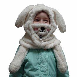 Головные уборы - Шапка детская с маской и управляемыми ушками, 0