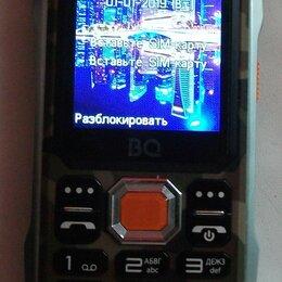 Мобильные телефоны - Телефон Bq 2432 tank se black, 0