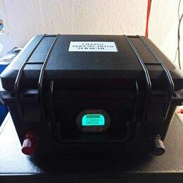 Аксессуары  - Lifepo4 тяговый аккумулятор для лодочного электромотора, 0