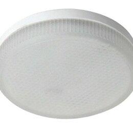 Лампочки - Лампа светодиодная Ecola GX53 8W 2800K 2K 27x75 матов. Light T5MW80ELC, 0