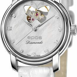 Наручные часы - Наручные часы Epos 4314.133.20.89.10, 0