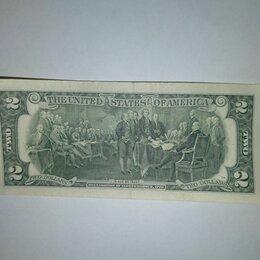 Банкноты - Купюра 2 доллара сша 1800 год, 0