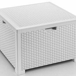 Корзины, коробки и контейнеры - Ящик для подушек для мебели цвет белый, 0