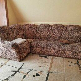Диваны и кушетки - Кресло и угловой двуспальный диван-крыовать., 0