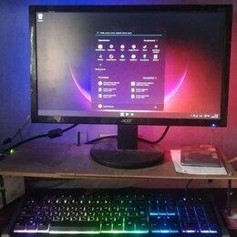 Настольные компьютеры - Игровой компьютер комплект rx570 12гб озу 120гбssd, 0