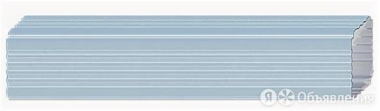 Труба водост.в компл. с колен.76*102*3000 RAL 9010 по цене 1730₽ - Кровля и водосток, фото 0