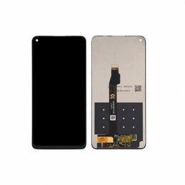 Дисплеи и тачскрины - Дисплей huawei honor 30s модуль черный, 0