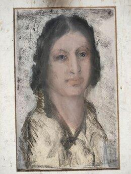Картины, постеры, гобелены, панно - портрет библейской Рахиль,…, 0