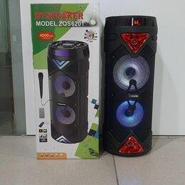 Портативная акустика - Колонка bt speaker zqs-6201, 0