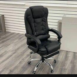 Компьютерные кресла - Офисное кресло boss с подножкой, 0