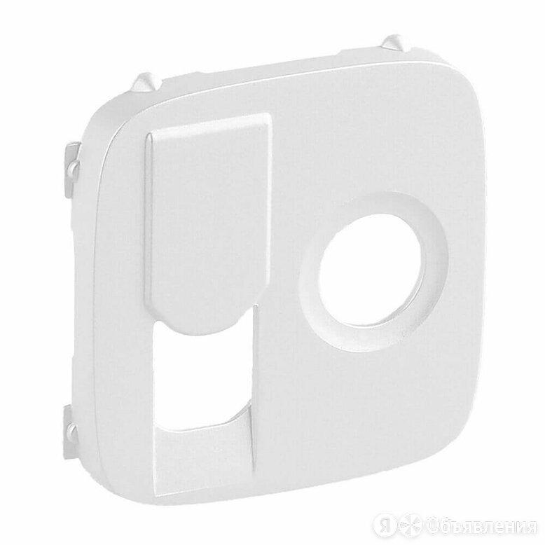 Лицевая панель Legrand Valena Allure розетки TV-RJ45 жемчуг 754839 по цене 262₽ - Комплектующие, фото 0