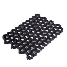 Садовые дорожки и покрытия - Газонная решетка 400x600x40мм, черная, 0