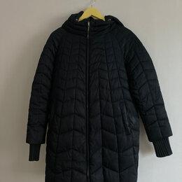 Пуховики - Зимнее стеганное пальто, 0