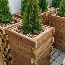 Дизайн, изготовление и реставрация товаров - Кашпо, вазоны, ящики из сосны для цветов и деревьев, 0