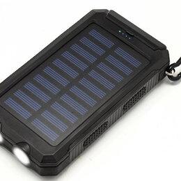 Универсальные внешние аккумуляторы - Внешний аккумулятор Power Bank 20000 mAh на солнечных батареях Solar, 0
