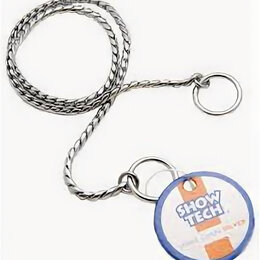 Комплекты - SHOW TECH металлическая шоу цепочка-кобра 60 см х 4 мм серебряная , 0