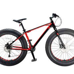 """Велосипеды - Велосипед INOBIKE Traveler Son RedLine 26"""", 17"""", фэтбайк, черный/красный, 0"""