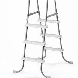 Лестницы и поручни - 28064 Лестница для бассейнов до 91см, 3 ступеньки, без площадки, 0