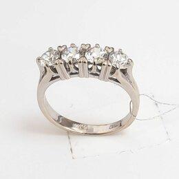 Кольца и перстни - Кольцо из белого золота, 0