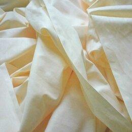 Ткани - Текстиль п/лен, цвет Нежный желтый, 0