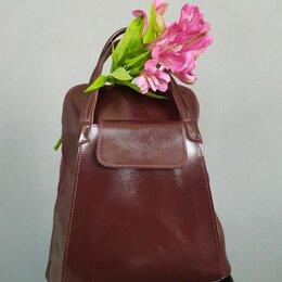 Сумки - Стильные женские рюкзаки из кожи, 0